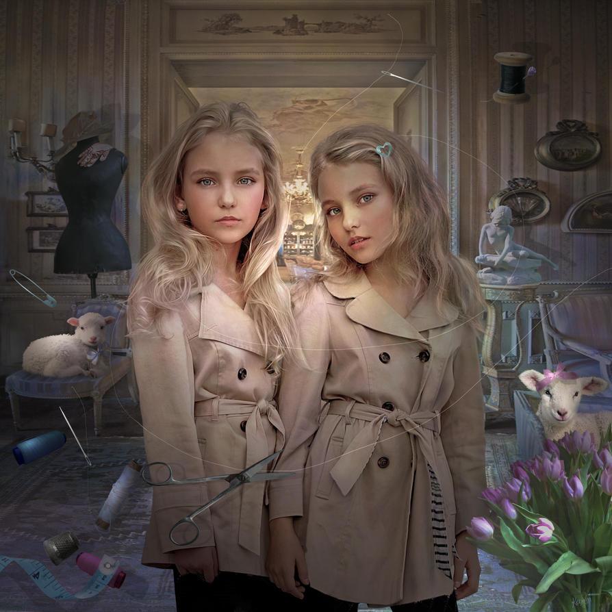 Twins by Dreamlikepix