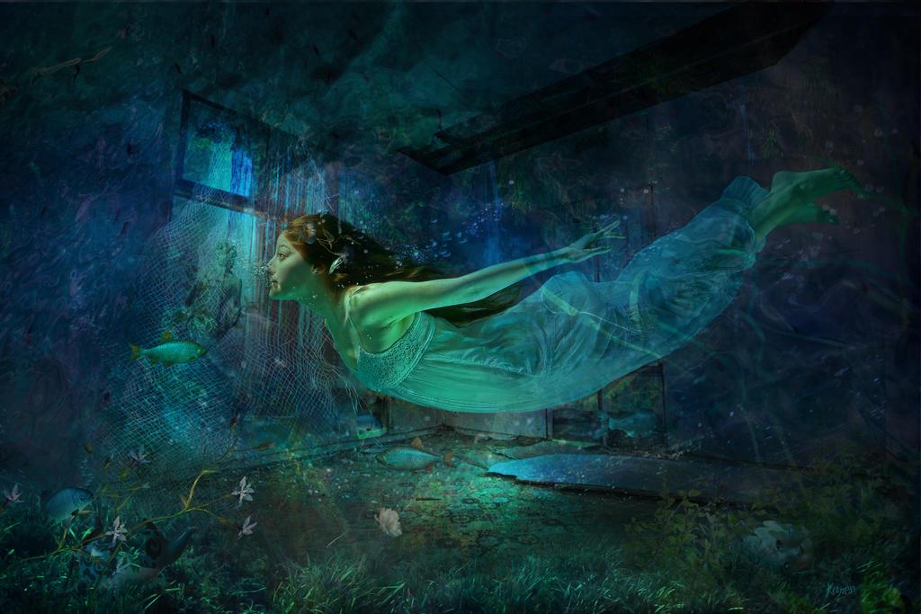 Abandoned by Dreamlikepix