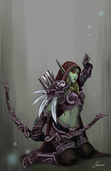 Rise of Sylvanas by chanimated