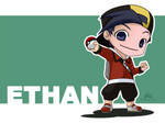 Pokemon - Ethan by chanimated