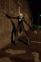 Nightmare in a dark alley...