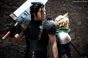 Zack and Cloud