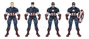 Ultimate Captain America Redesign