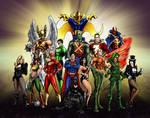 The Original Justice League!