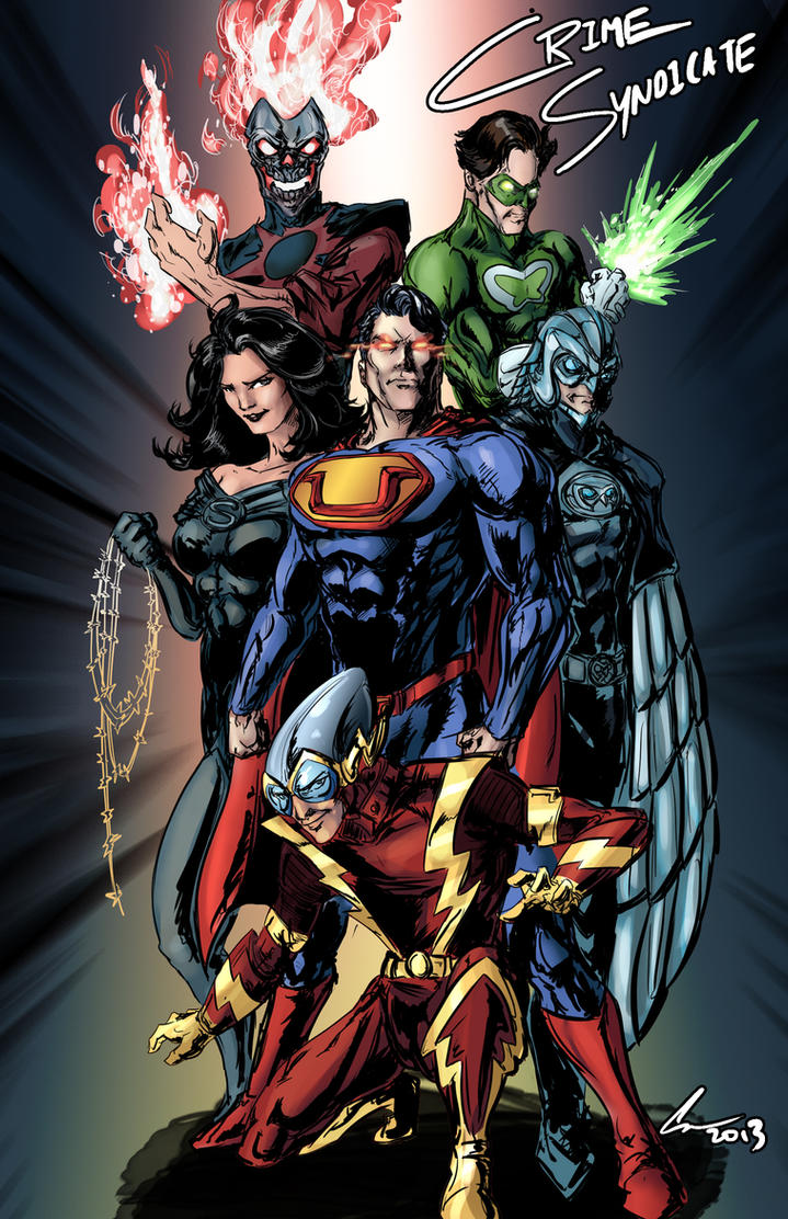 new 52 crime syndicate by randomality85 on deviantart