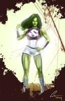 She Hulk by randomality85