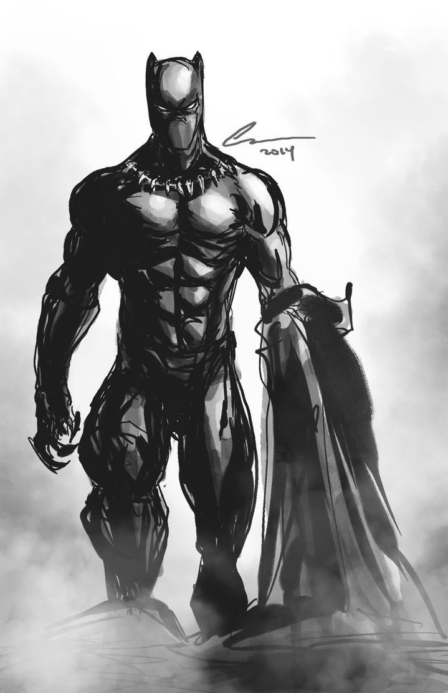 Black Panther by randomality85