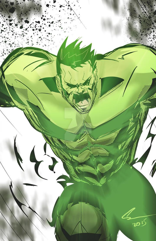 Hulk by randomality85