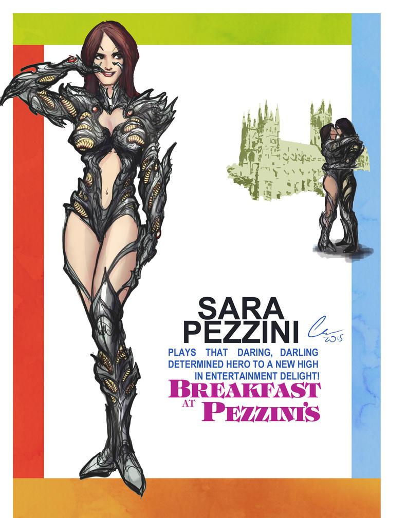 Witchblade (Breakfast at Tiffany's spoof) by randomality85