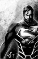 Superman bearded