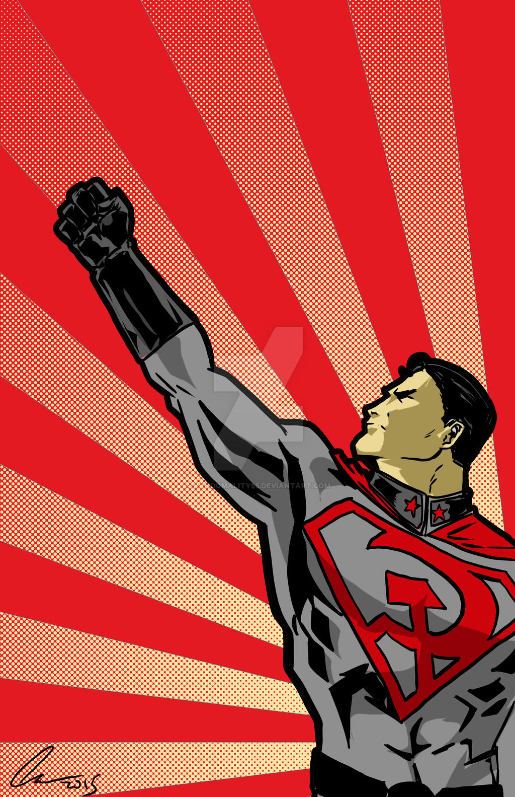 Red Son by randomality85