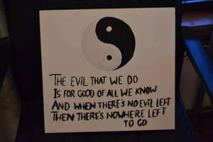 Yin and Yang painting :)