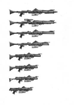 DC-15 blaster rifle variants