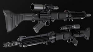 Valken m39 paratrooper blaster rifle
