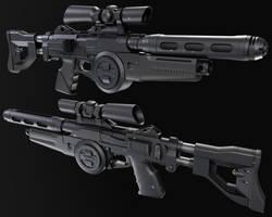 Westar M5 Heavy Blaster Rifle