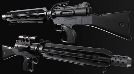 T-11 Squad Automatic Blaster Rifle (SABR)