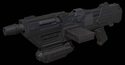 DC-17m blaster rifle