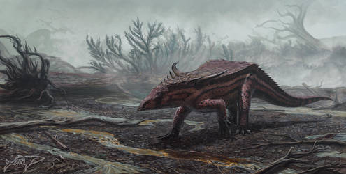 Desmatosuchus spurensis by FinwalSMD