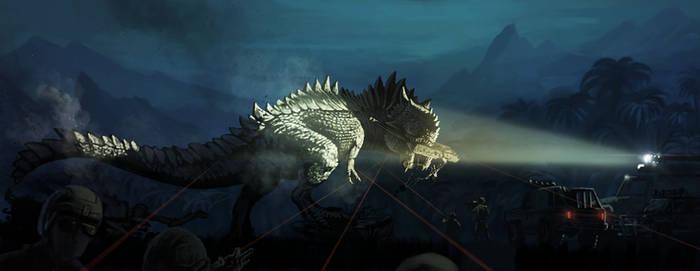 Type-H Rex (The Isle fan art)
