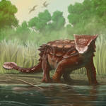 Commission: Ankylosaurus