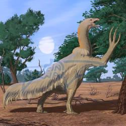 Comissoin: Therizinosaurus