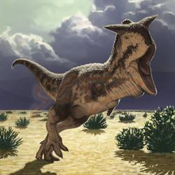 Commission: Carnotaurus