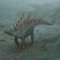 Commission: Kentrosaurus