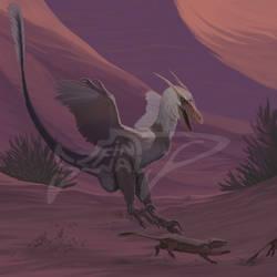 Comissoin: Velociraptor