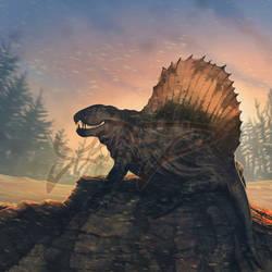 Commission: Dimetrodon