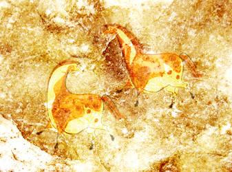 Cave Painting by Alibarbarella