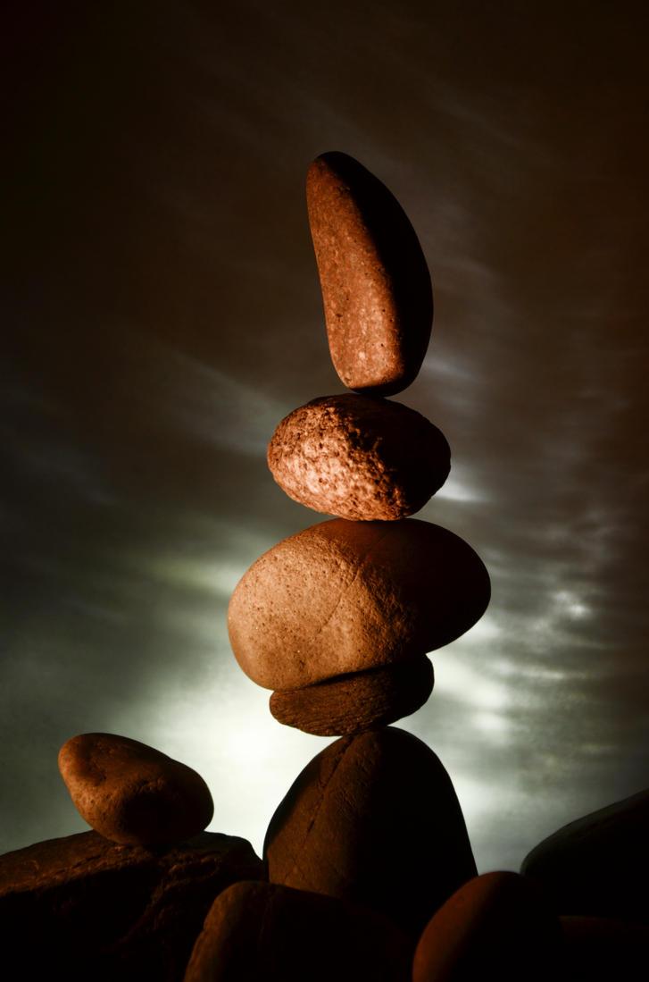 Balance With Aurora #4 by Alibarbarella