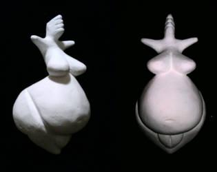 Palaeolithic Venus Figurine by Alibarbarella