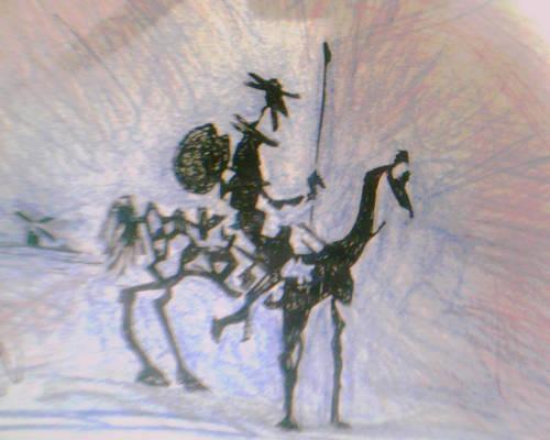 the lonely Don Quixote