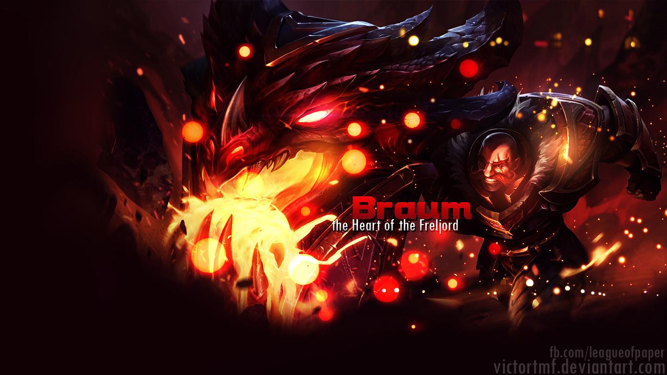 Braum by victortmf on DeviantArt