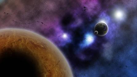 SpaceArt Wallpaper 12