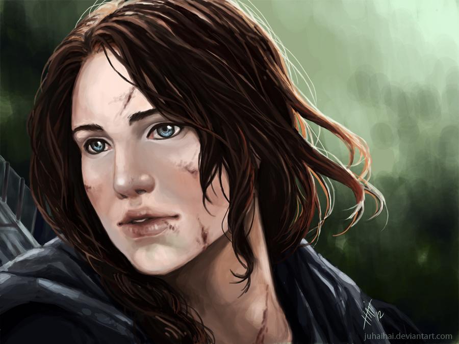 Katniss by juhaihai