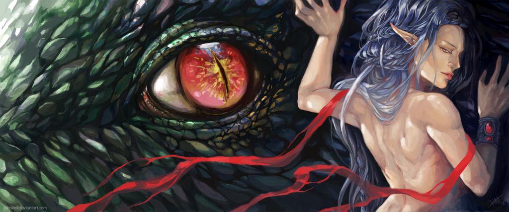 Dragon Elf by juhaihai