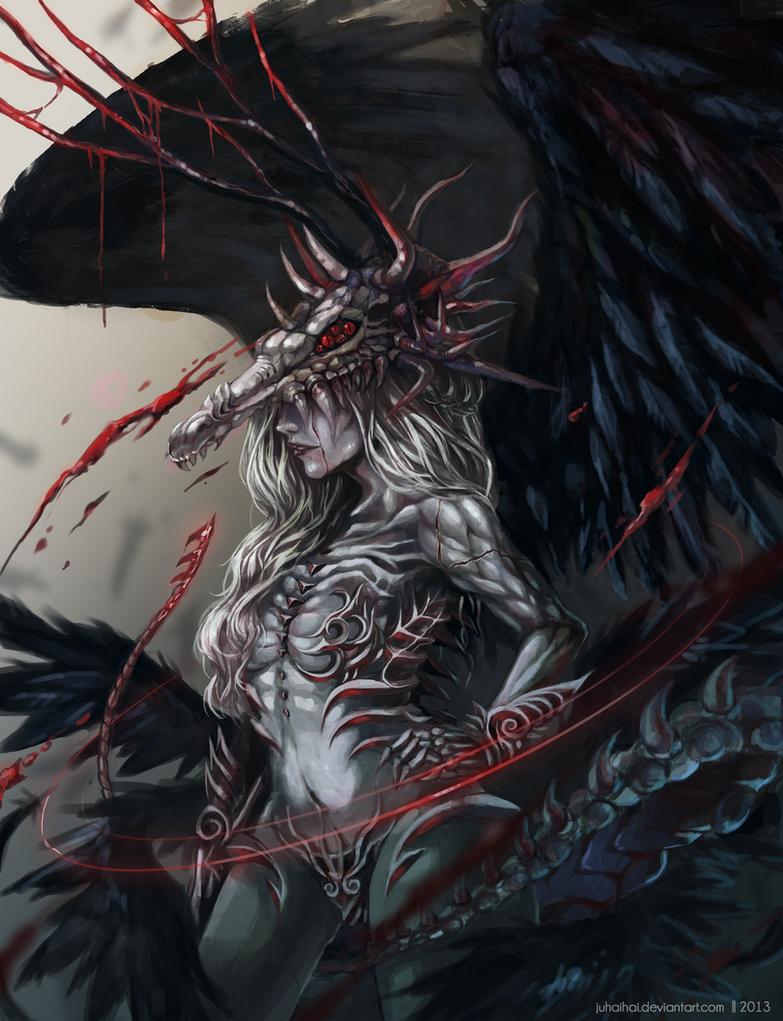 Blood and Bones by juhaihai on DeviantArt