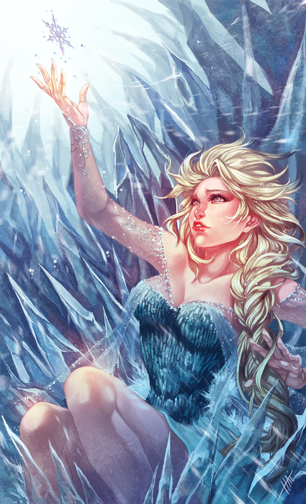 Snow Queen by juhaihai