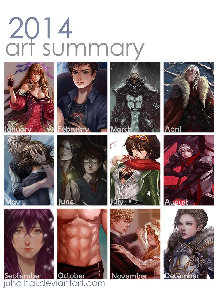 2014 Art Summary by juhaihai