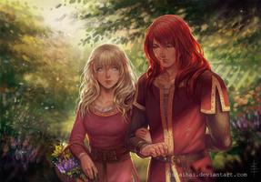 Commission: Arya and Kirian