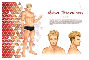 Antologiya: Quinn Thornsbeak by juhaihai