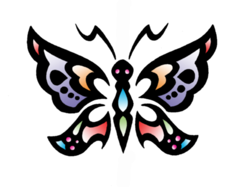 Butterfly Design by thepinupgirl on DeviantArt