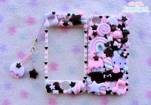 Pastel goth inspired cover for Iphone4