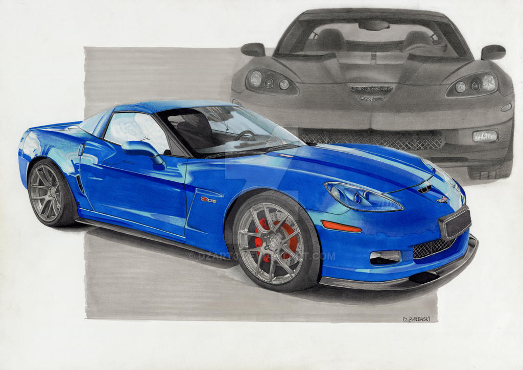 chevrolet corvette z06 by dzart3 on deviantart