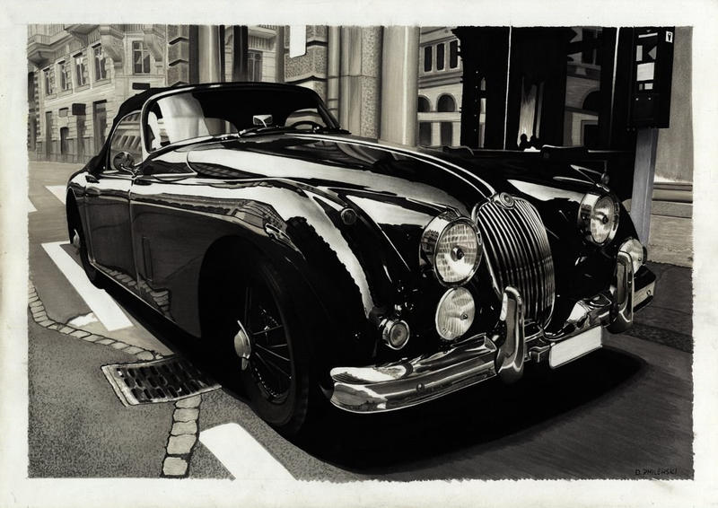 Jaguar XK150 by dzart3