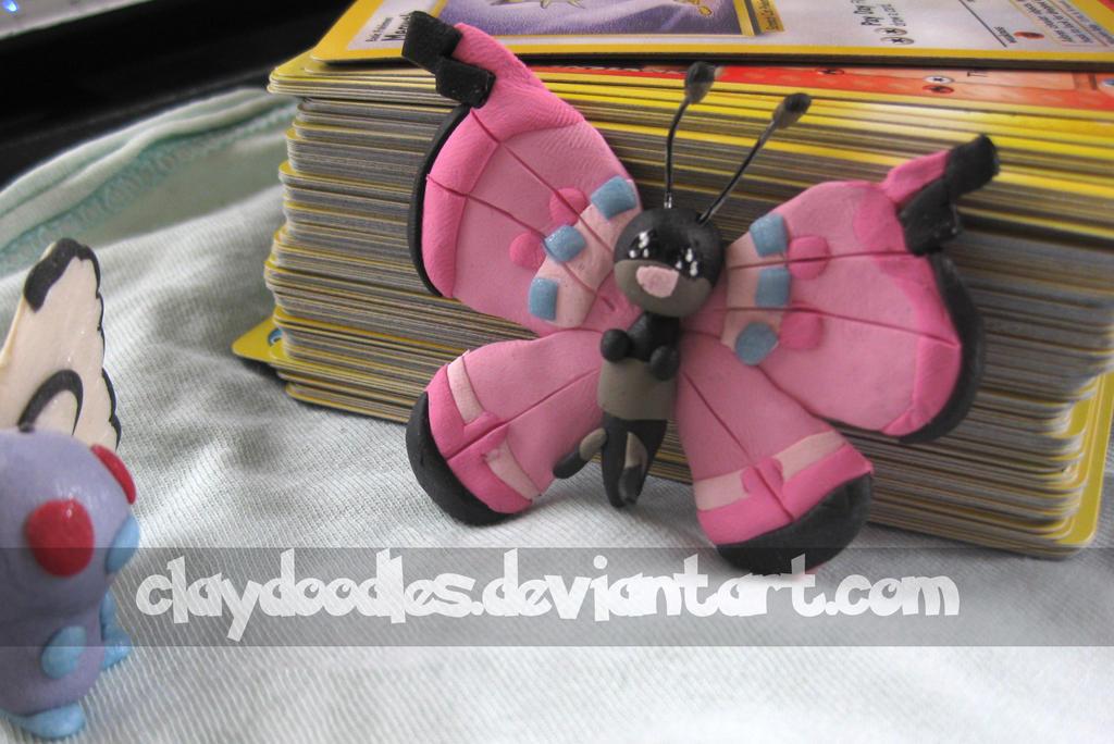 Pokemon X and Y Vivillon by claydoodles