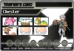 Final Chester Card 5 by MaxineZoruaLuna