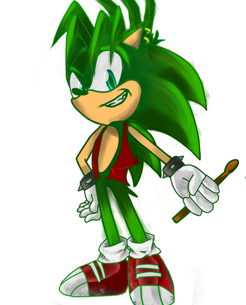 Manic the Hedgehog - Sonic Brother by JustASonicFan on ...