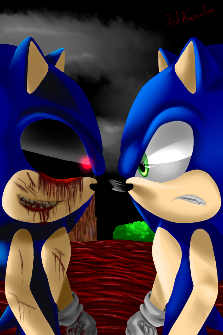 Sonicexe vs Sonic the Hedgehog  REMAKE by JustASonicFan on